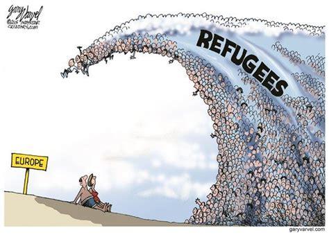 political cartoons syrian refugees 15 best refugee cartoons images on pinterest political
