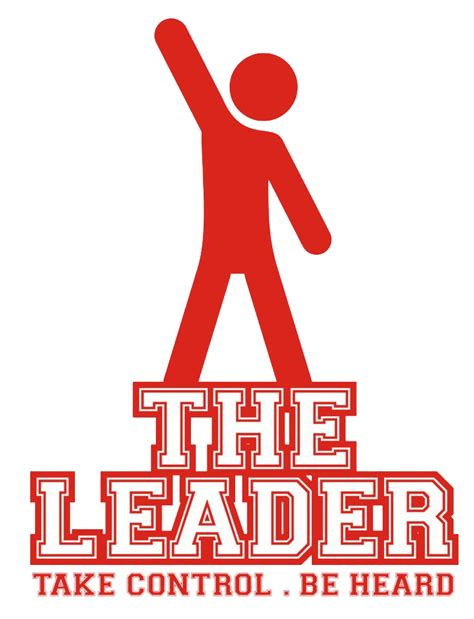 Be The Leader logo the leader