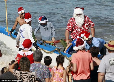 Your Ex Is Not Santa Baby Which Means He Has Nothing For You by Tom Arnold Takes Baby Jax To Visit Hawaiian Santa With