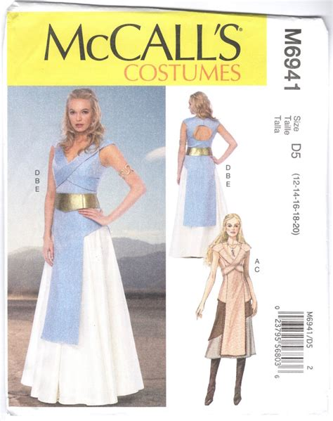 pattern for daenerys dress game of thrones patternvault