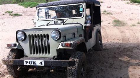 Major Jeep Modified Mahindra Major