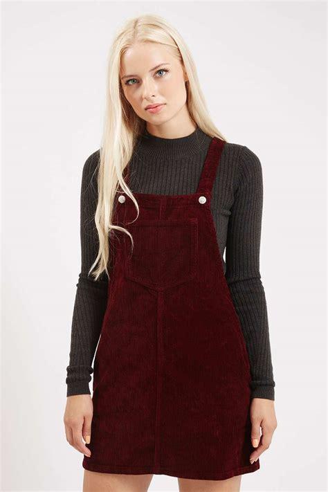 Topshop Pinafore Dress by Cord Pinafore Dress Clothing Topshop