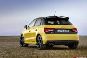 Audi S1 Official 2014 Audi S1 And S1 Sportback Gtspirit