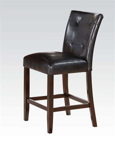 Cherry Dining Room Sets For Sale by Counter Height Chair Easton By Acme Furniture Ac71147 Set