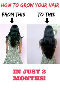 how much does black hair grow in a month how to grow your hair faster