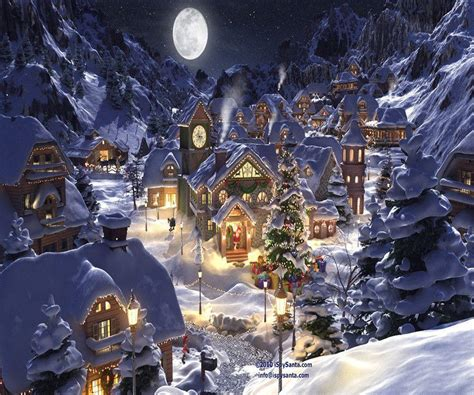 wallpaper christmas town christmas eve wallpapers wallpaper cave