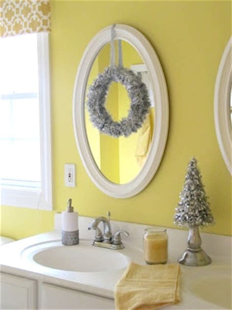 how to decorate a bathroom mirror remodelaholic holiday decorating ideas for every room in