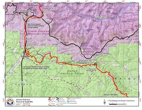 grand map of south ata gateway community tusayan