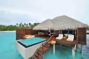 Belize Tiki Huts Ayada Maldives Resort Overwater Bungalows