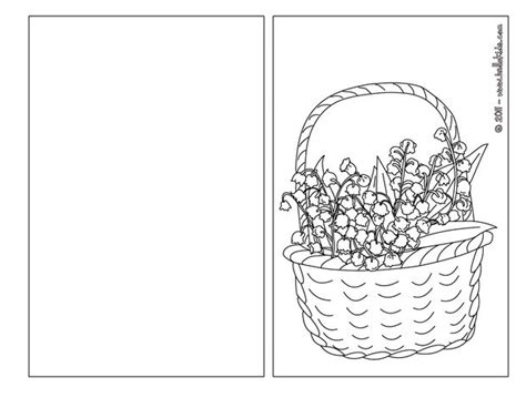 flower basket coloring pages hellokids com