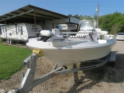 triumph boat trailer 2011 used triumph 190 bay boat for sale 22 500