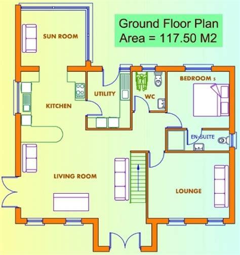 ground floor plan for home ground floor first floor home plan house design ideas