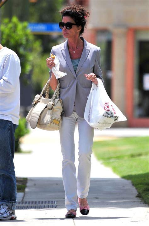 Identify Janice Dickinsons Bag by Janice Dickinson Leather Tote Janice Dickinson Looks