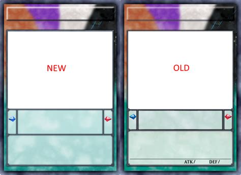 blank yugioh card template png blank yugioh card template card template deviantart
