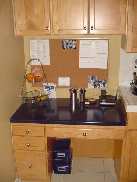kitchen desk cabinet cabinets raasch enterprises inc