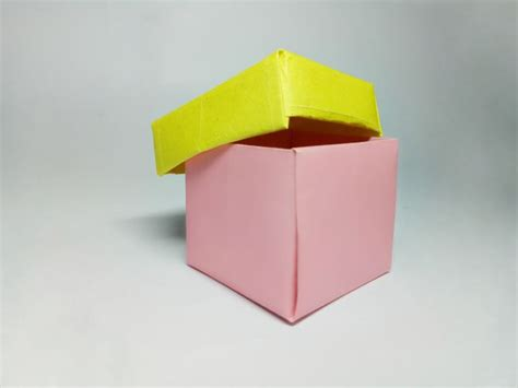 How To Make Paper Boxes - how to fold a paper box 12 steps with pictures wikihow