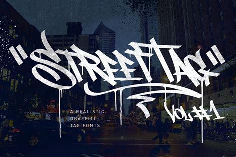 graffiti font street tag vol creative daddy