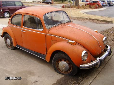 volkswagen orange orange vw bug