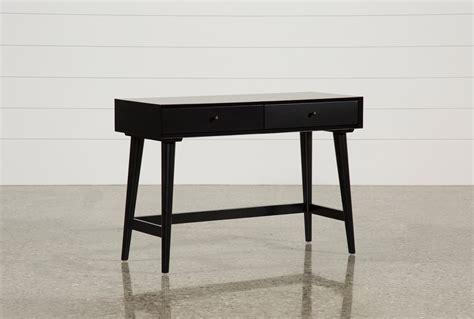 living spaces desk alton black writing desk living spaces