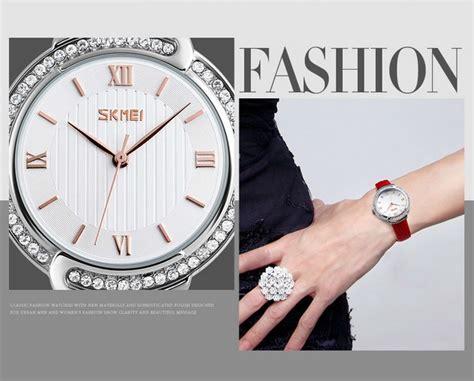 Jam Tangan Analog Wanita Skmei Original 9143 Limited 1 jam tangan seiko anti air jualan jam tangan wanita