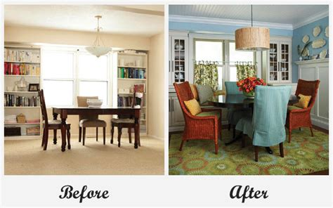 room makeover before and after room makeovers each featuring a very different before and