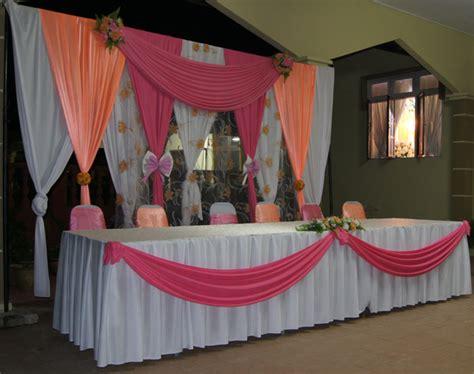 desain meja makan pengantin gambar meja makan beradab pengantin