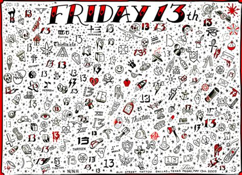 where to get your friday the 13th tattoos in jacksonville