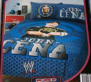wwe queen size comforter set wwe wrestling john cena pajamas shorts size boys 6 8 nwt