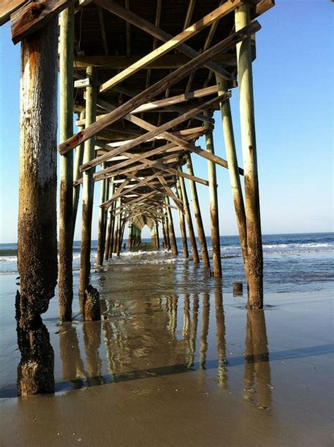 holden pier on the coast of carolina a