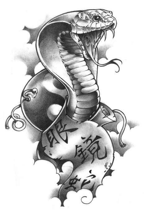 cobra tattoo design 327 best snake images on designs