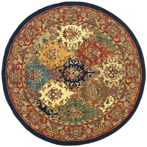 10 ft rug safavieh heritage multi burgundy 10 ft x 10 ft