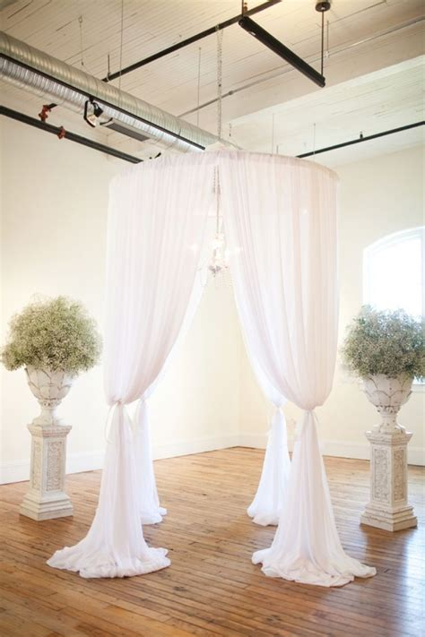 wedding drapery backdrop best 25 indoor wedding arches ideas on pinterest