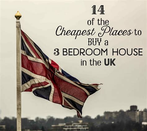 Cheapest Place To Buy A by Cheapest Places In The Uk To Buy 3 Bedroom Houses 2018
