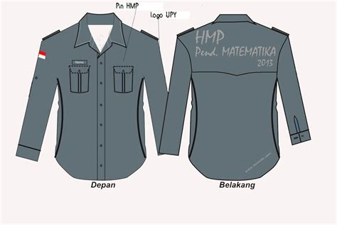 Design Baju Kemeja Lengan Panjang | exist konveksi