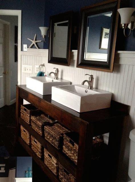 diy farmhouse vanity bathroom tutorials   diy