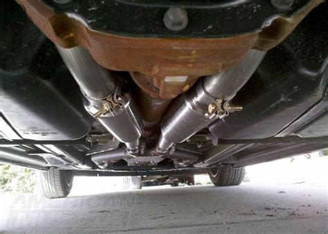 muffler for mustang how to modify your v6 mustang s exhaust dual conversion