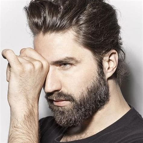 best hair styles to compliment a beard 17 best images about beards hair on pinterest undercut