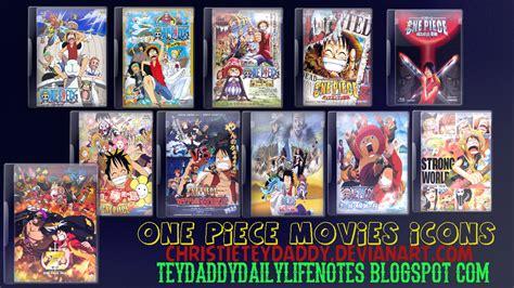 Film One Piece List | one piece movies icons by christieteydaddy on deviantart