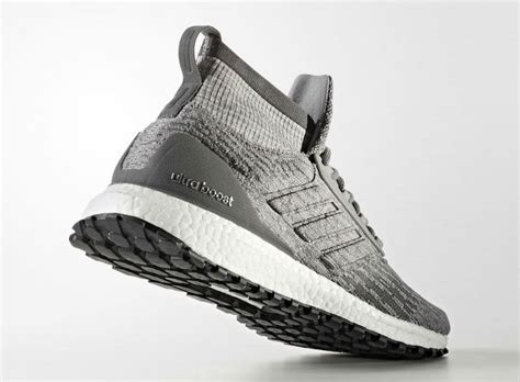 Adidas Ultraboost Atr Mid Black Grey Best Ua 100 Quality Perfeck adidas ultra boost atr mid grey available now sneakers cartel