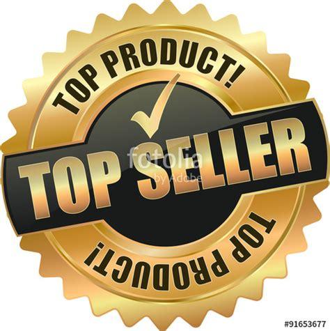 best seller pr quot golden shiny vintage top seller 3d vector icon seal sign
