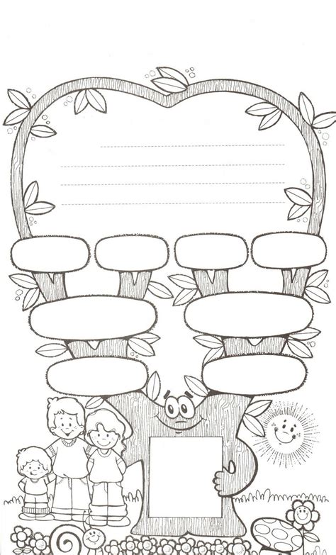 international christmas tree coloring page family tree worksheet learningenglish esl