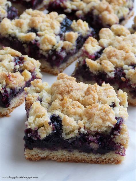 blueberry recipe blueberry crumb bars
