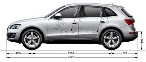 2014 audi q5 length audi q5 dimensions uk exterior and interior sizes carwow