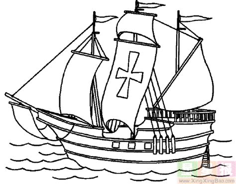 Free The Mayflower Coloring Pages Mayflower Coloring Page
