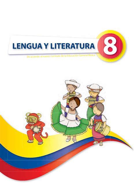 libro novedad 2011 lengua y lengua 8 1