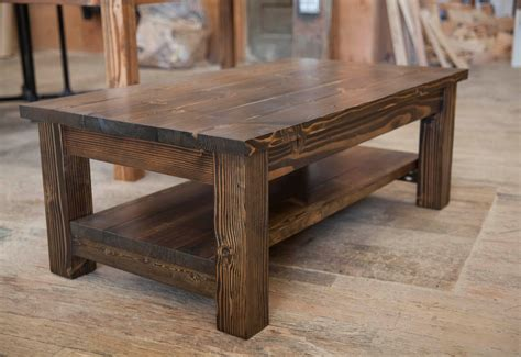 farmhouse coffee table 249 99 creative of rustic walnut