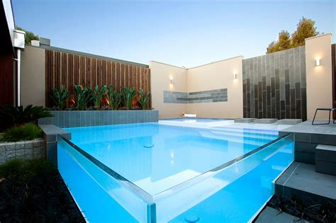 Glas Pool by 25 Finest Designs Of Above Ground Swimming Pool Home
