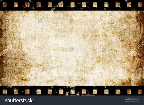 aged wallpaper with film strip border stock illustration old paper texture film strip can stock illustration