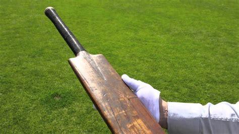 the bat the first bradman s first cricket bat youtube