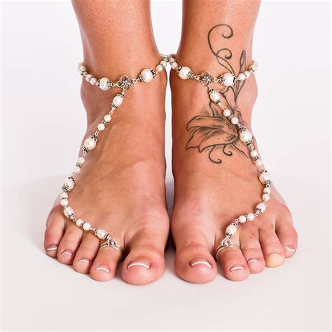 foot sandals amazing foot jewellery for wedding bridals nationtrendz